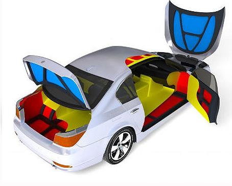 Тепло и шумоизоляция автомобиля
